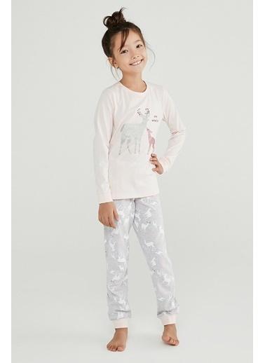 Penti Kız Çocuk Wonderland 2Li Pijama Takımı Renkli